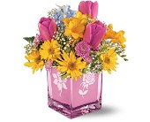 Teleflora's Burst of Spring Bouquet in Manasquan NJ, Mueller's Flowers & Gifts, Inc.