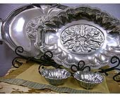 Lenox Butler�s Pantry Metal Serveware 3 pc. Chip and Dip in Monticello AR, Town & Country Florist