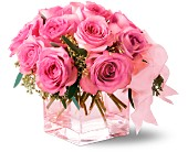 Teleflora's Pink on Pink Bouquet in Houston TX, Killion's Milam Florist