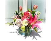 Irvine Flowers - Pink Blossom - Cheers Unique Floral &amp; Gifts