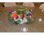 Centerpiece in College Station, Texas, Postoak Florist