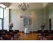 Wedding Ceremony Church in College Station, Texas, Postoak Florist