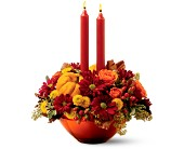 Teleflora's Amber Autumn Bouquet in Ferndale MI, Blumz...by JRDesigns