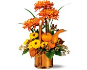 Teleflora's WILLIAMSBURG� Fall Traditions Bouquet in Edmonton AB, Petals For Less Ltd.
