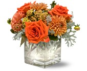 Teleflora's Perfect Orange Harmony in Friendswood TX, Lary's Florist & Designs LLC