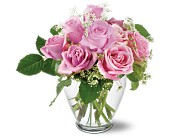 Teleflora's Tender Pinks in New York NY, Fellan Florists Floral Galleria