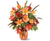 Fall Grandeur in Orange VA, Lacy's Florist