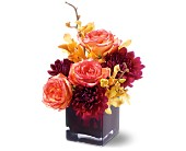 Teleflora's Burgundy Bliss in Sunnyvale TX, The Wild Orchid Floral Design & Gifts