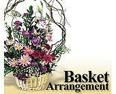 Designer's Choice Basket Arrangement in Bakersfield CA, White Oaks Florist