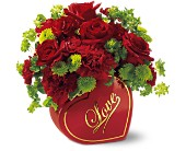 Teleflora's From The Heart Bouquet in Chesterfield SC, Abbey's Flowers & Gifts