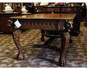 Quarter Sawn Carved Library Table-SOLD in Grand Rapids MN, Shaw Florists