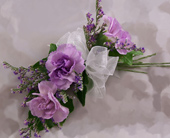 Corsage-pin on with Carnations in Woodbridge VA, Lake Ridge Florist