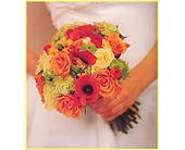 Bouquet of limon roses, miracle roses, viburnum, treasure calla lilies in Tuckahoe NJ, Enchanting Florist & Gift Shop