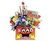 <b><font color=ff7f00><u>JUNK FOOD JUNKIE candy bo in Wichita KS, The Flower Factory, Inc.