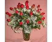 Zephyrhills Flowers - Two Dozen Red Roses - Marion Smith Florist