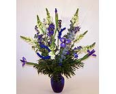 Dream Blue Bouquet in Indianapolis IN, Gillespie Florists