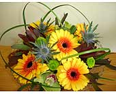 Sunny Gerbera Twist in Newmarket ON, Blooming Wellies Flower Boutique