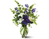 Teleflora's Green Inspiration Bouquet in Edmonton AB, Petals For Less Ltd.