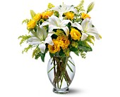 Teleflora's Pure Inspiration Bouquet in El Cerrito CA, Dream World Floral & Gifts