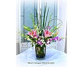 Lily & Orchid Fantasy in Lake Forest CA, Cheers Floral Creations