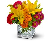 Teleflora's Summertime Splash in Rocklin CA, Rocklin Florist, Inc.