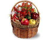Health Nut Basket in Harlan KY, Coming Up Roses
