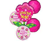 MDBB23 ''Love You Mom'' Balloon Bouquet in Oklahoma City OK, Array of Flowers & Gifts