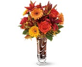 Teleflora's Swirls of Autumn Bouquet - Deluxe in Salt Lake City UT, Especially For You