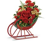 Teleflora's Sleigh Ride Bouquet in Woodbridge VA, Lake Ridge Florist