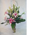 East Naples Flowers - Oriental Stargazers - Gene's 5th Ave. Florist