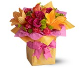 Peaster Flowers - Teleflora's Très Chic Present - Remembrance Flower Shop