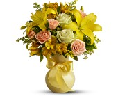 Teleflora's Sunny Smiles in Aston PA, Wise Originals Florists & Gifts