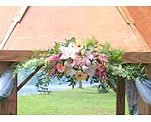 Gazebo Decoration in Williamsport, Pennsylvania, Janet's Floral Creations