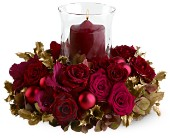 Golden Holidays Centerpiece in Grand Falls/Sault NB, Grand Falls Florist LTD