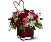 Teleflora's Holiday Sweetheart in Austin TX, Ali Bleu Flowers