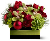 Holiday Chic in Elk Grove CA, Flowers By Fairytales
