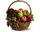 Holiday Fruit Basket in Winnipeg MB, Hi-Way Florists, Ltd