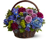 Savannah Flowers - Twilight Garden Basket - John Wolf Florist