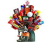 CB201 ''Fairway Favorite'' Golf Bag Candy Bouquet in Oklahoma City OK, Array of Flowers & Gifts