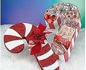 Candy Cane Lane in Laurel MD, Rainbow Florist & Delectables, Inc.