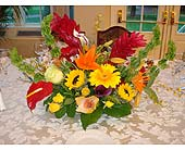 Exotic Centerpiece in Wantagh NY, Numa's Florist