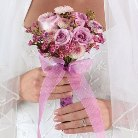 Clutch Bridal Bouquet in Augusta GA, Ladybug's Flowers & Gifts Inc