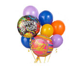 Birthday Balloon Bunch in Baltimore MD, Raimondi's Flowers & Fruit Baskets