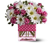 Teleflora's Polka Dots and Posies in Stony Plain AB, 3 B's Flowers