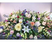 Full casket spray in Lower Gwynedd, Pennsylvania, Valleygreen Flowers and Gifts