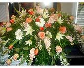 CASKET PIECE in Purcell, Oklahoma, Alma's Flowers, LLC