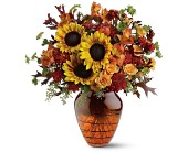 Teleflora's Amber Glow Bouquet in Salt Lake City UT, Especially For You