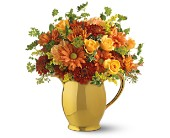 Teleflora's WILLIAMSBURG� Golden Pitcher in Eldora IA, Eldora Flowers and Gifts