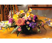 Wildflower Centerpiece in Lake Forest CA, Cheers Floral Creations