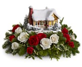 Thomas Kinkade's Childhood Home by Teleflora in San Clemente CA, Beach City Florist